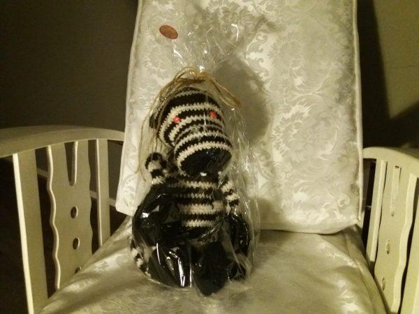 Zebra - ingepakt als cadeau