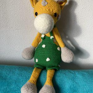 Giraf - voorkant - groene broek