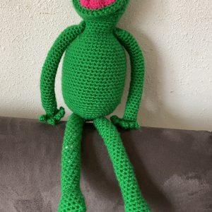 Kermit - op rand van de bank