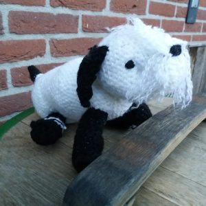 Shih Tzu pup - zwart/wit